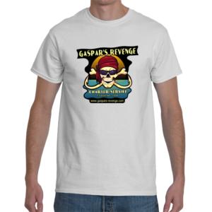 gaspar's revenge mens white t-shirt