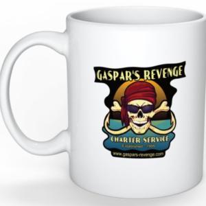 gaspar's revenge white coffee mug