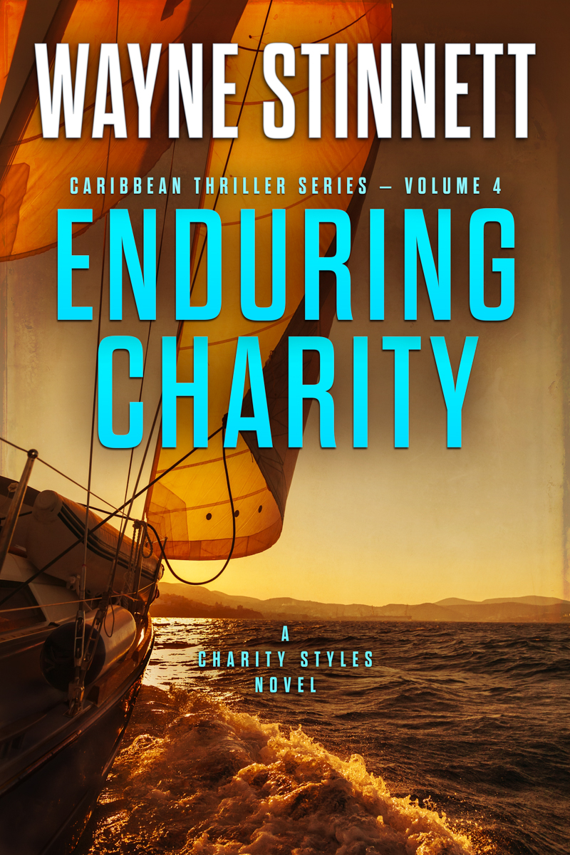 The book cover of Wayne Stinnet's novel, Enduring Charity