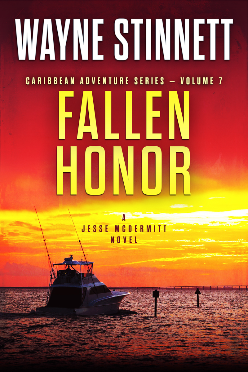 The book cover of Wayne Stinnet's novel, Fallen Honor
