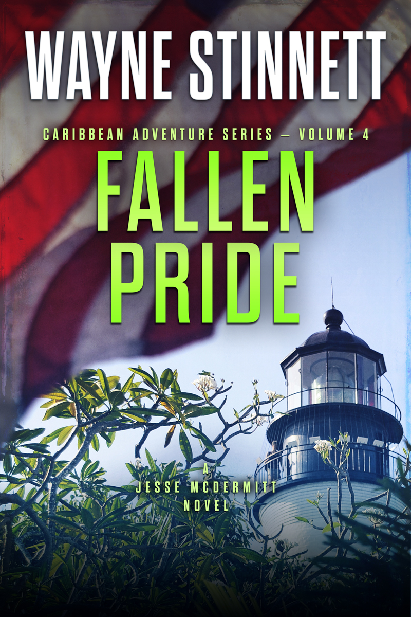 The book cover of Wayne Stinnet's novel, Fallen Pride