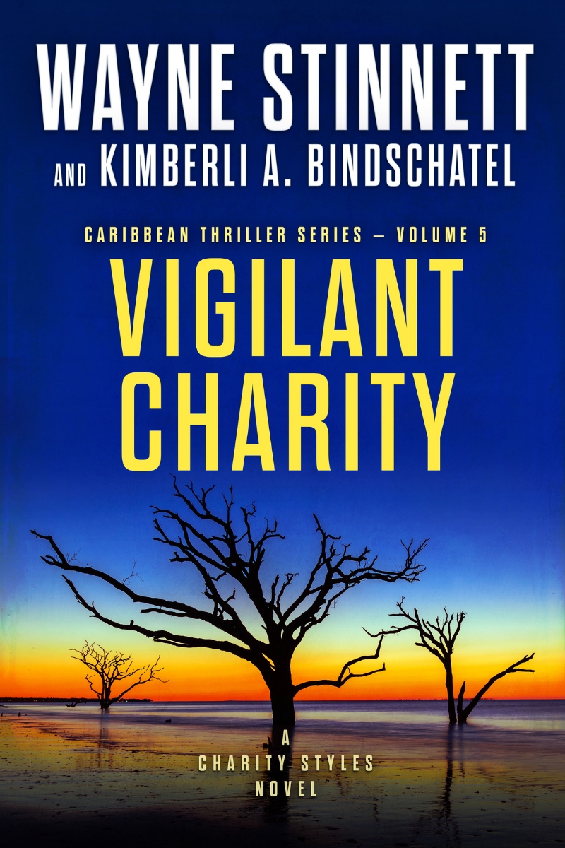 The cover of Wayne Stinnett's novel, Vigilant Charity