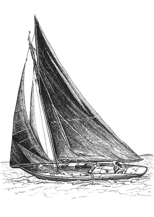 Charity Styles Sailboat