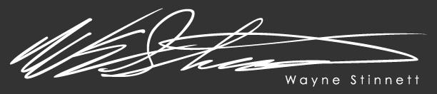 Wayne Stinnett Signature