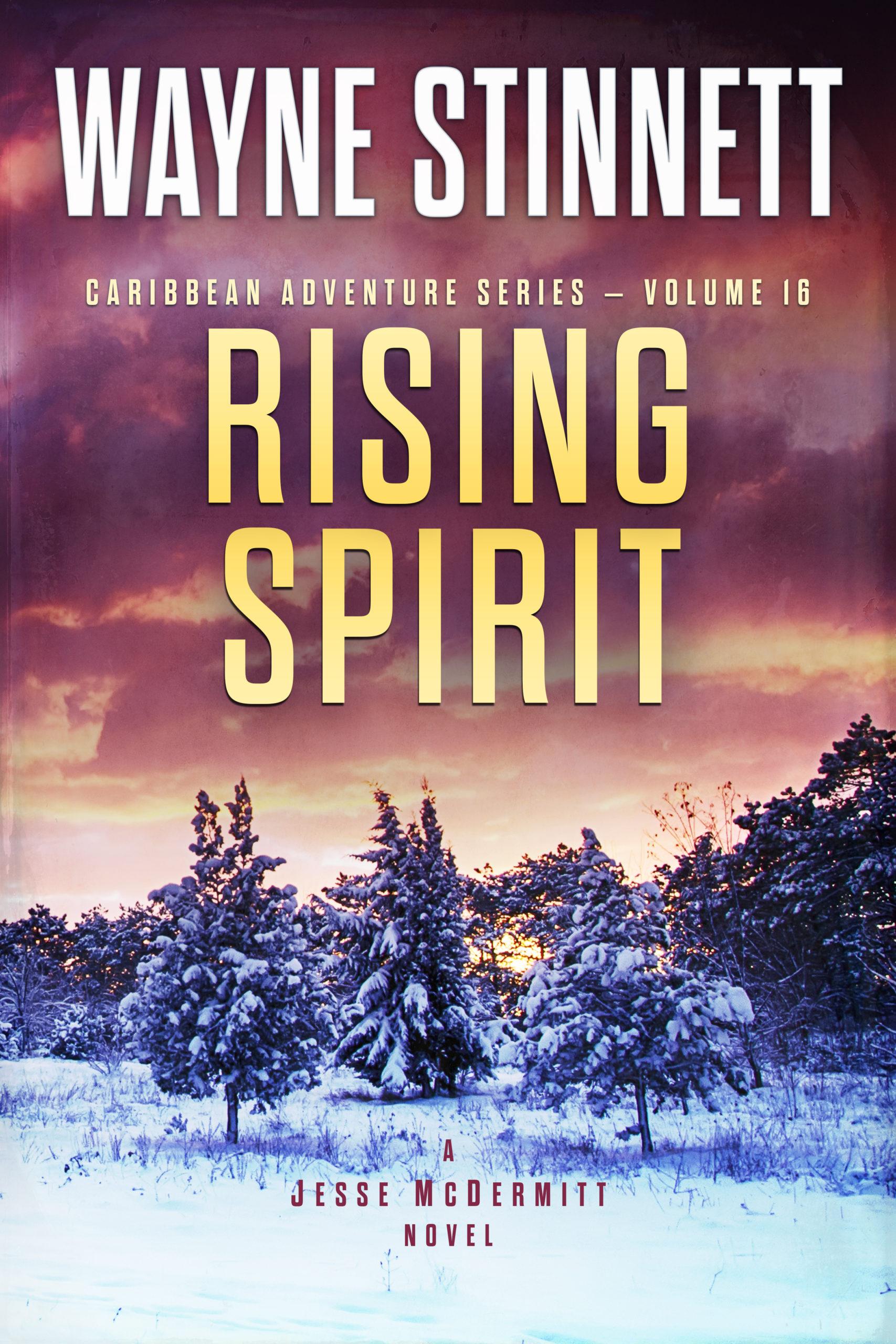 Book Cover of Rising Spirit by Wayne Stinnett