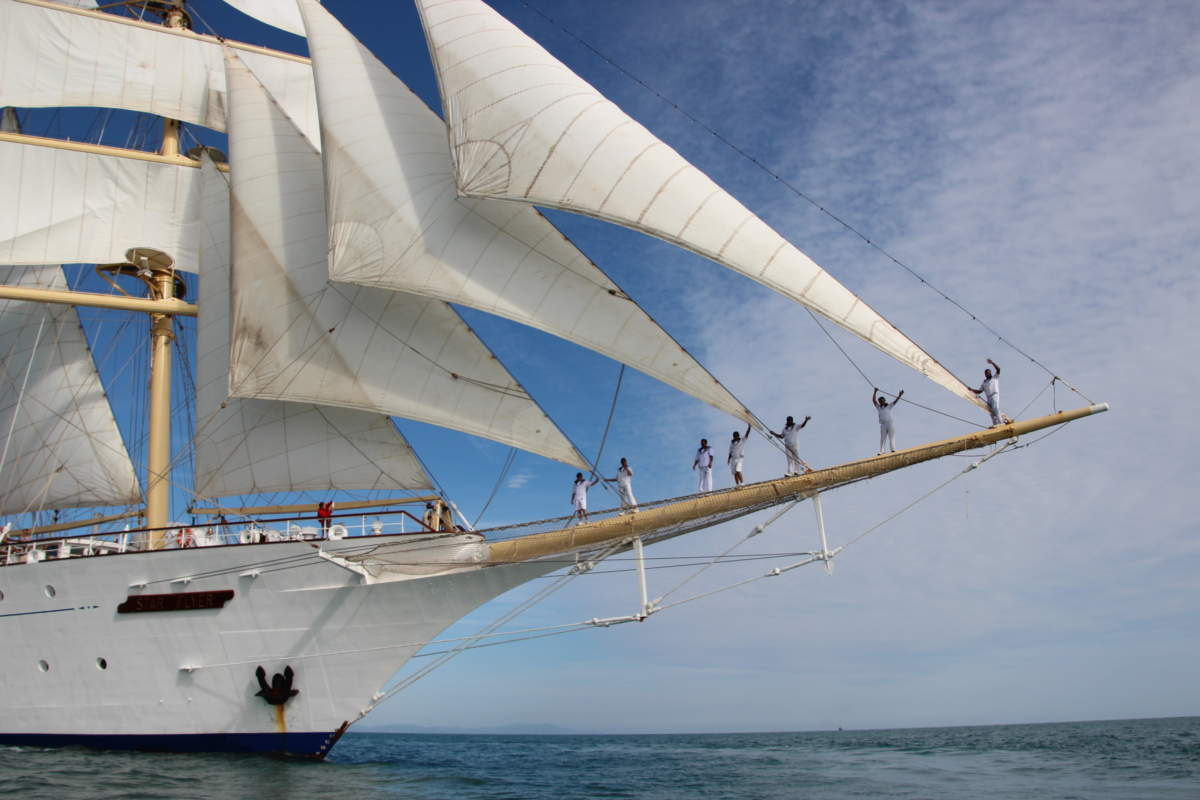 Star Flyer Tall Ship Bow Sprit
