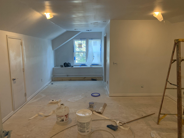 Podcast studio under construction