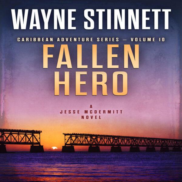 Book cover of Fallen Hero by Wayne Stinnett