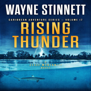 Book cover of Rising Thunder by Wayne Stinnett