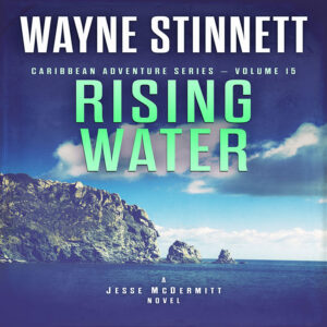 Book cover of Rising Water by Wayne Stinnett