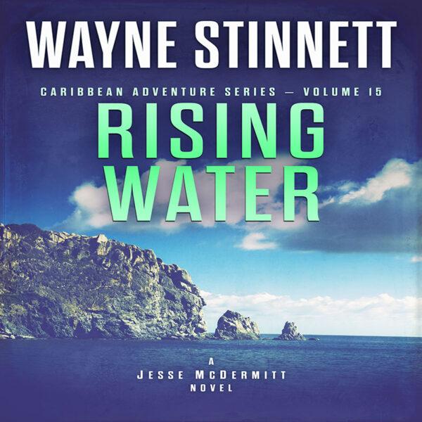 Book cover of Rising Water by Wayne Stinnett