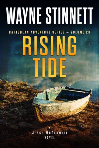 Book Cover of Rising Tide by Wayne Stinnett