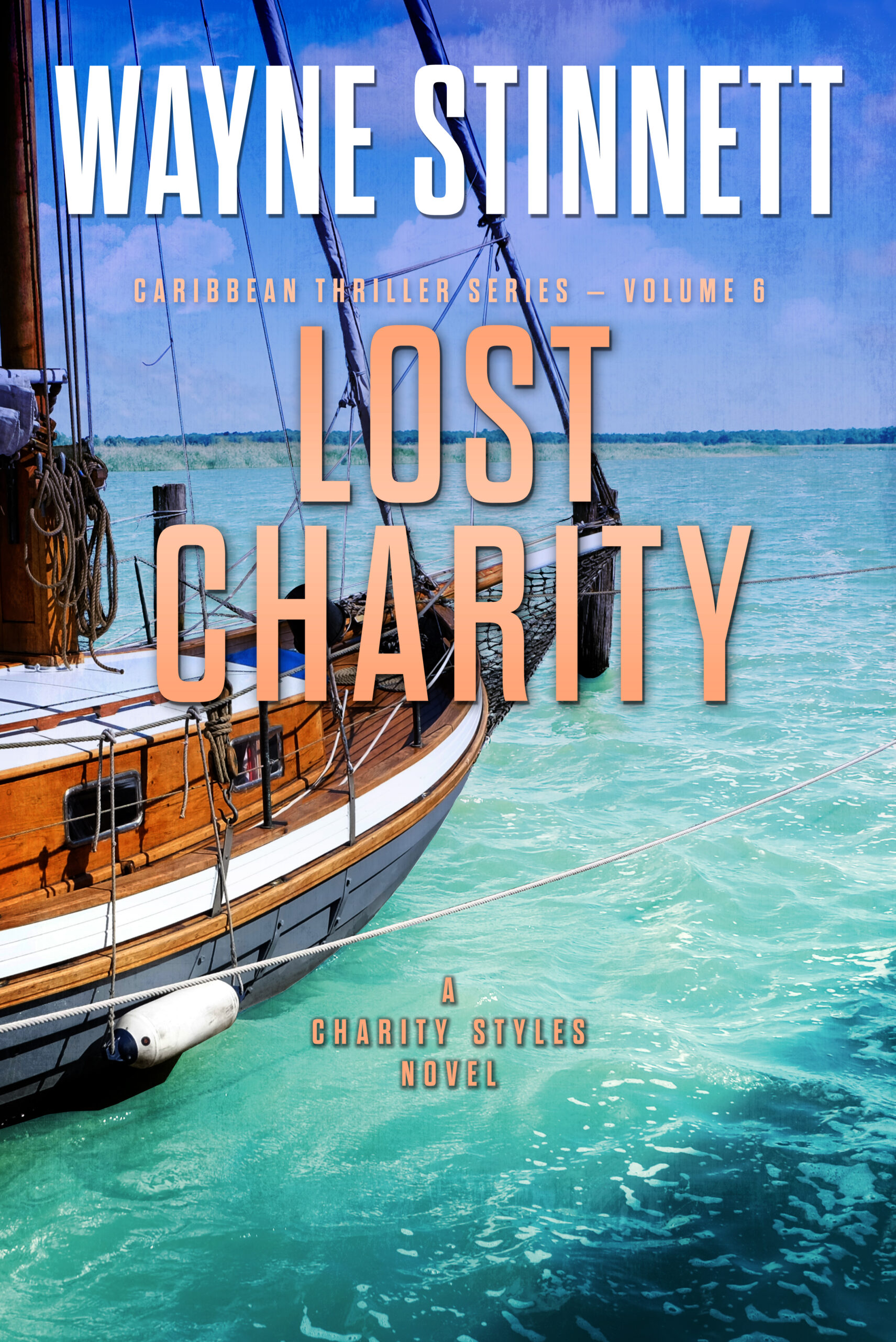 Book Cover of Lost Charity by Wayne Stinnett